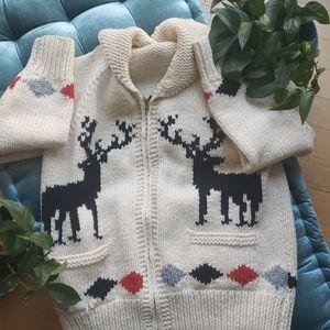 Handmade cowichan vintage Big lebowski sweater